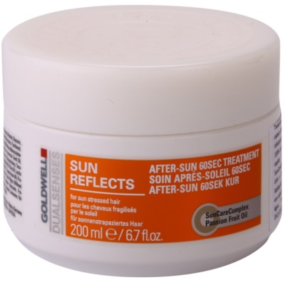Regenerating Mask For Hair Stressed By Sun