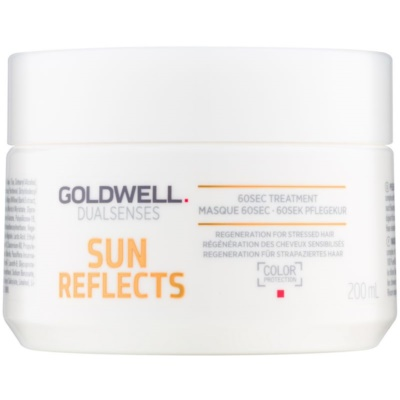 Regenerating Mask For Hair Damaged By Chlorine, Sun & Salt Effects