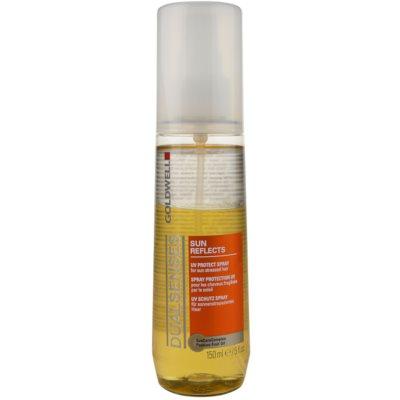 spray para cabelo danificado pelo sol