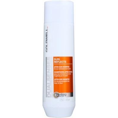 Shampoo für von der Sonne überanstrengtes Haar