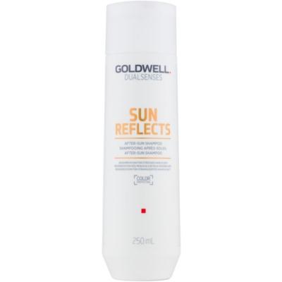 Shampoo für Körper und Haare nach dem Sonnen