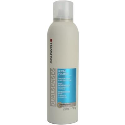 spray para cabelo fino