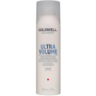 suchý šampon pro objem