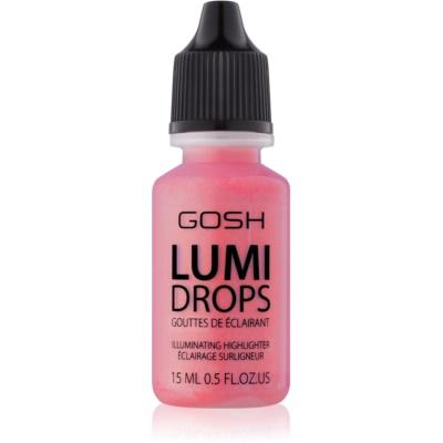 Gosh Lumi Drops blush liquido