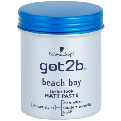got2b Beach Boy Matte Paste for Definition and Shape