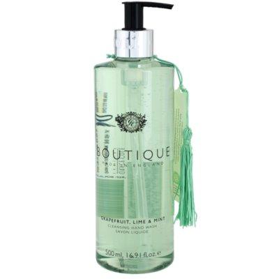 folyékony szappan kézre