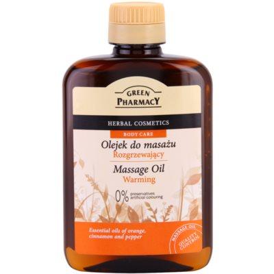 загряващо масажно масло
