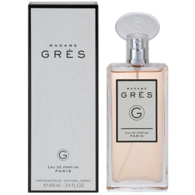Grès Madame Grès eau de parfum nőknek