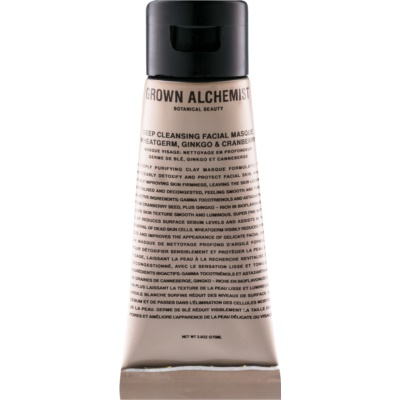 Grown Alchemist Cleanse máscara facial de limpeza profunda