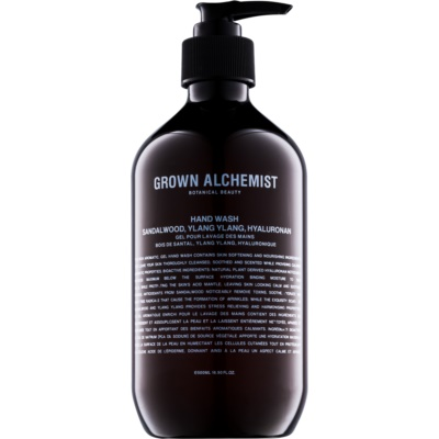 Grown Alchemist Hand & Body tekuté mýdlo na ruce se santalovým dřevem