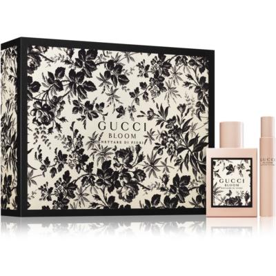 Gucci Bloom Nettare di Fiori Gift Set II.  Eau De Parfum 50 ml + Eau de Parfum Roll-on 7,4 ml