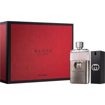 Gucci Guilty Pour Homme coffret cadeau I.  eau de toilette 90 ml + eau de toilette 30 ml