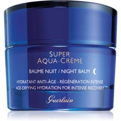 bálsamo de noche hidratante para la regeneración intensa de la piel