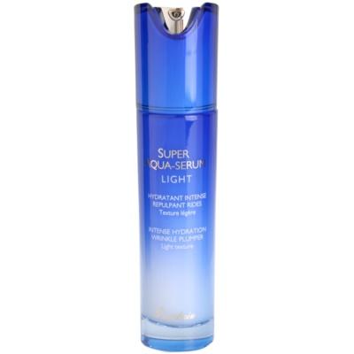 sérum facial leve para hidratação intensiva de pele
