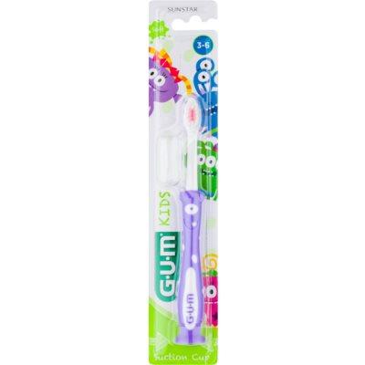 zubní kartáček s přísavkou pro děti