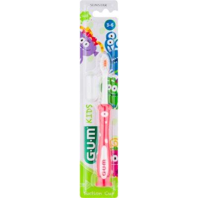 четка за зъби за деца със залепяща поставка
