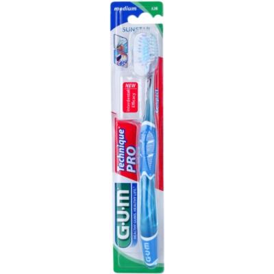 cepillo de dientes con tapa de viaje medio