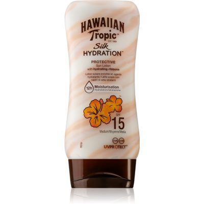 Hawaiian Tropic Silk Hydration Hydraterende Crèmevoor Zonnen  SPF 15