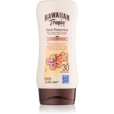 Hawaiian Tropic Satin Protection leite bronzeador SPF 30