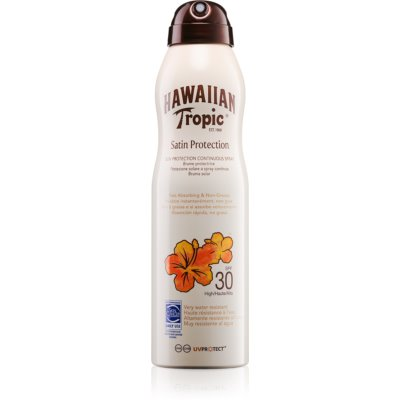 Hawaiian Tropic Satin Protection napozó spray SPF 30