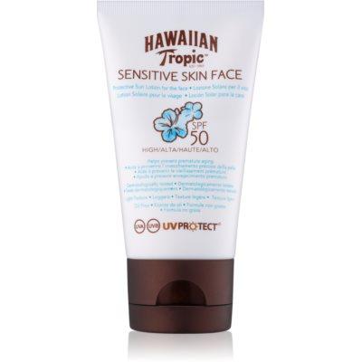 Hawaiian Tropic Sensitive Skin Face naptej az egész arcra SPF 50