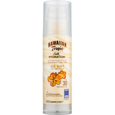 Hawaiian Tropic Silk Hydration Air Soft loción bronceadora SPF 30