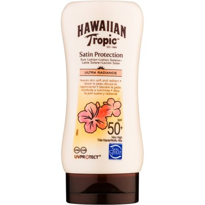 Hawaiian Tropic Satin Protection lait solaire SPF 50+