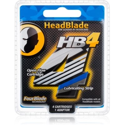 HeadBlade HB4 Replacement Blades 4 pcs