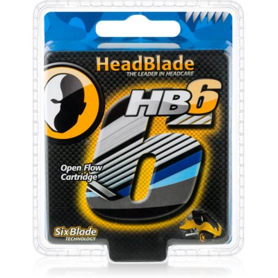HeadBlade HB6 Vervangende Open Messen