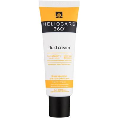 Heliocare 360° protector solar fluido en crema SPF 50+