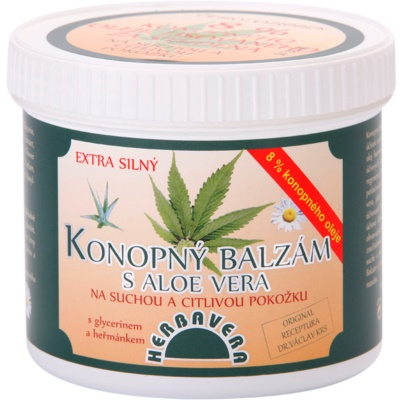 Hemp Balm With Aloe Vera