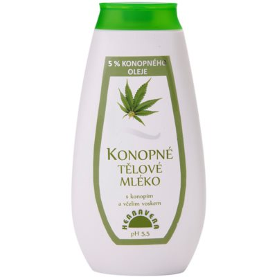 Body Milk With Hemp Oil