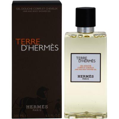 Hermès Terre d'Hermès гель для душу для чоловіків
