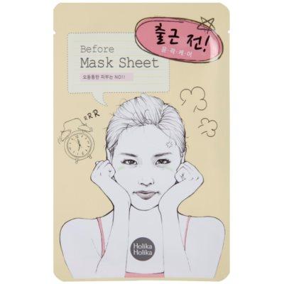 zklidňující maska