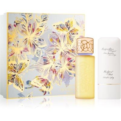 Houbigant Quelques Fleurs l'Original Geschenkset  Eau de Parfum 100 ml + Hand - und Körpercreme 150 ml