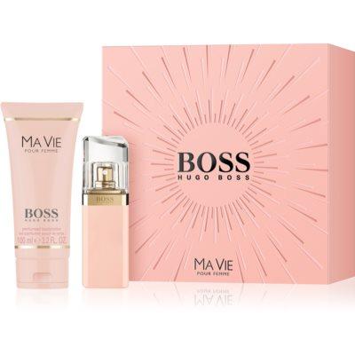 Hugo Boss Boss Ma Vie darilni set VIII.  parfumska voda 30 ml + losjon za telo 100 ml