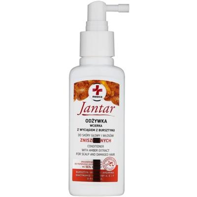 conditioner spray pentru regenerare pentru par deteriorat