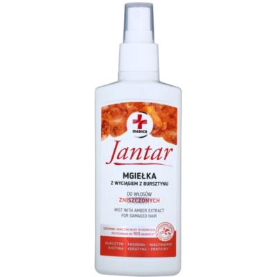 spray pentru ingrijirea parului pentru par deteriorat