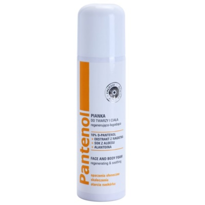 Ideepharm Panthenol Soothing Foam for Face and Body