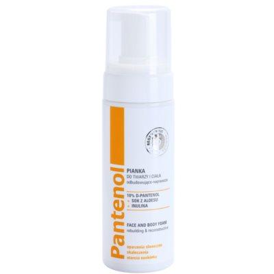 Ideepharm Panthenol espuma regeneradora rostro y cuerpo para la renovación celular