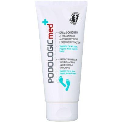 защитен крем за крака с антибактериална добавка