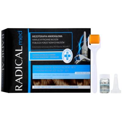 Ideepharm Radical Med μεσοθεραπεία μικροβελονισμού για τόνωση της ανάπτυξης νέων μαλλιών  για άντρες