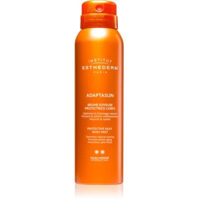 spray corpo per stimolare l'abbronzatura