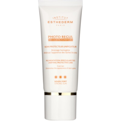 Institut Esthederm Photo Regul догляд для вирівнювання тону шкіри з гіперпігментацією з високим ступенем UV захисту