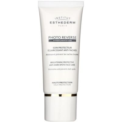 Institut Esthederm Photo Reverse trattamento protettivo illuminante contro le macchie della pelle ad alta protezione UV
