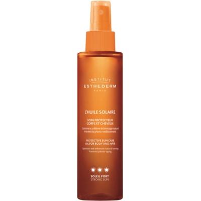 Sonnenöl für Körper und Haare hoher UV-Schutz