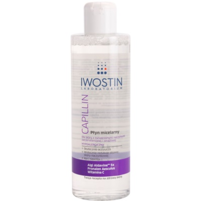Cleansing Micellar Water For Sensitive Skin Prone To Redness