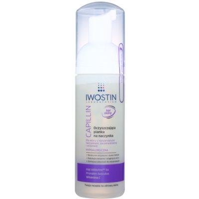 espuma desmaquillante limpiadora para pieles sensibles con venas dilatadas