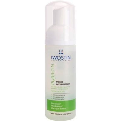Reinigungsschaum für fettige Haut mit Neigung zu Akne