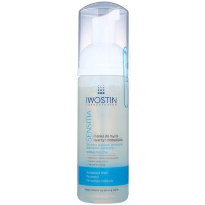 čistilna pena za odstranjevanje ličil za občutljivo in alergično kožo